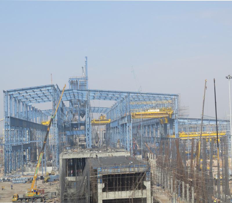 Zarand Steel Making Plant
